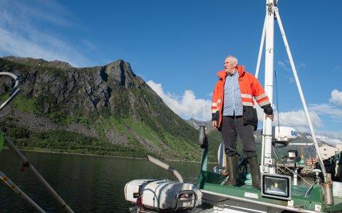 HAVET: Johan Eide lengter alltid ut på havet. - Det er et kall, sier 74-åringen.
