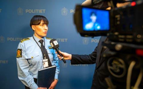 FREMSTILLES: Lene Fabek, seksjonsleder for etterforskning i Tromsø-politiet forteller at begge vil bli fremstilt for varetektsfengsling torsdag.
