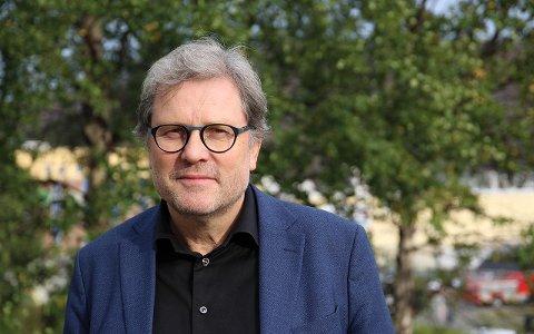 VINNER: Stein Ovesen, administrasjonssjef i Troms og Finnmark fylkeskommune, er en av lønnsvinnerne etter sammenslåingen av fylkene.