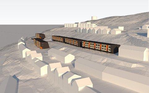 KONTRAKT: Leiligheter på Svalbard.