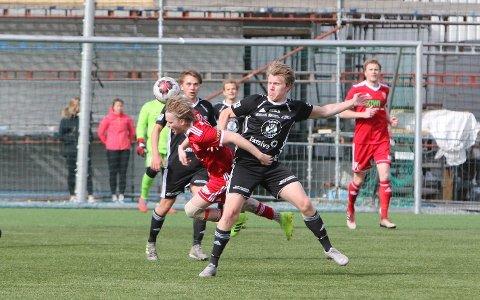 Emil Bakkelund scoret Kolbu/KKs mål, men måtte innse at Løten ble for sterke.