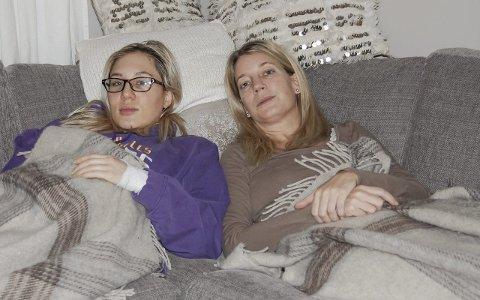 Tilskuere til livet: Anniken Eikseth og Hilde Ostorp (til høyre) har begge diagnosen kronisk nevroborreliose som følge av flåttbitt. De håper forskerne her i landet snart finner en kur som kan behandle sykdommen. foto: Solveig wessel
