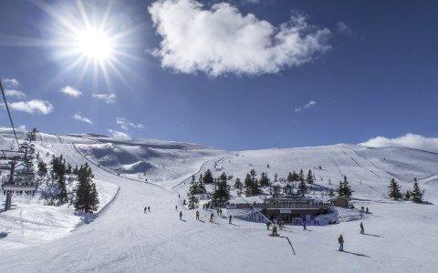 STØRST: Trysil er landets største alpinanlegg. I løpet av forrige sesong solgte de over én million dagspass. FOTO: Halvard Alvik / NTB scanpix /