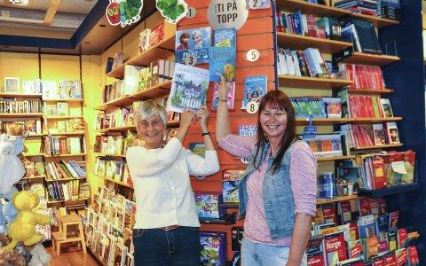 Spenning: Lillian Skow og Liv Hege Refsdal kommer begge med ny barnebok i disse dager. Begge vil gjerne at den klatrer opp på salgslistene i bokhandelen.foto: per albrigtsen