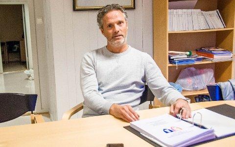 REAGERER: Lars-Ovar Nordby er valgt til tillitsmann ved Gopledal vannverk. Han reagerer kraftig på endringene i kommunalteknikk.