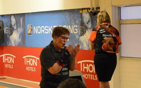 VANT: Anita Meiningen vant finalen i dameklassen.