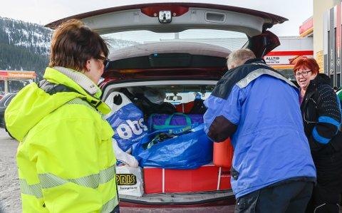Ann-Marit Bjørnbakk gir gode tips til hvordan du skal pakke bilen og spør om Sturle Valla har vært bevisst på hvordan han har pakket.