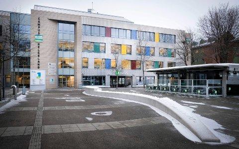 Stakobygget AS eier bygget som huser Campus Helgeland. En diskusjon i kommunestyret om langsiktige mål for økonomisk utvikling ble pepret med relativt sterke ord.