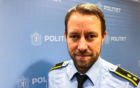 Kristian Hanssen er ansatt som politistasjonssjef i Mo i Rana.