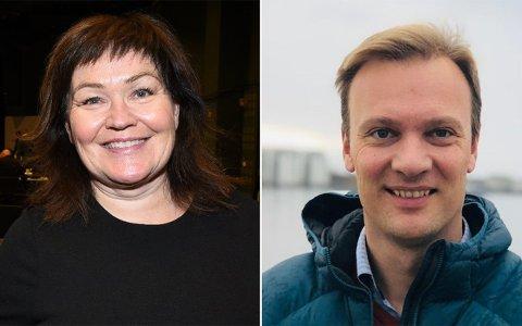 Varaordfører i Rana kommune, Anita Sollie, og stortingskandidat Bård Ludvig Thorheim, begge Høyre, gleder seg over nyheten om at Mo i Rana Havn får 114 millioner kroner i første del av NTP.
