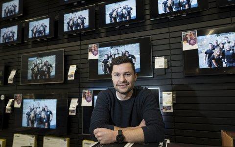 Tv-underholdning: Anders Jacobsen kommer til å synes på mange skjermer når Mesternes mester skal kåres i sesong åtte. Foto: Frode Johansen (fotograf på TV-skjermbildene: Fred Andre Wergeland, Rubicon TV)