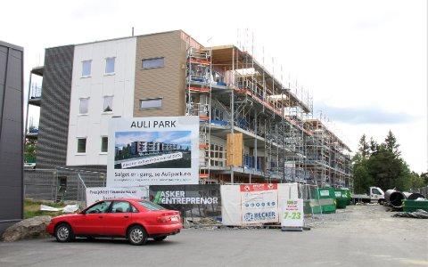 I RUTE: Auli Park vil stå ferdig i oktober, og det er kun 12 ledige leiligheter.
