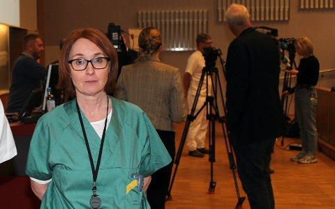 UAKSEPTABELT: Det er ikke akseptabelt at den ordinære intensivkapasiteten i Norge ikke er økt siden mars i fjor, mener seksjonsoverlege Vibecke Sørensen ved intensivavdelingen på Ahus.