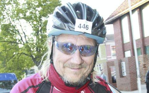 FØRSTEREIS: Geir Moshus var fornøyd med debuten i Den store Styrkeprøven.