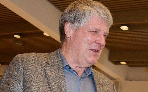 IKKE FORNØYD: - Planleggingen av ny E134 ut til E18 er en skandale, sa Roar Skryseth (H).