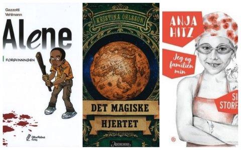 Sandefjordbibliotekene anbefaler bøker. Denne uka er det Tale Bergan som gir barn og unge tre boktips.