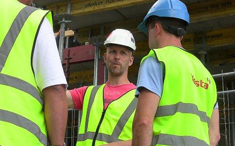 GODE TIDER: Avdelingsleder i Xervon Vestfold og Telemark, Terje Gallis, opplyser at 2019 vil bli det første året hvor selskapet omsetter for nær 20 millioner kroner.