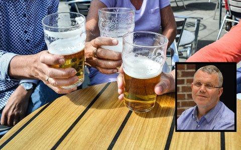GA OPP: Bror-Lennart Mentzoni (KrF) ga opp å forfølge det han kaller et dårlig skjenkevedtak fra det politiske flertallet og «knefall for næringsinteresser». – Alkohol er ikke næringspolitikk. Det er ruspolitikk, sier han.