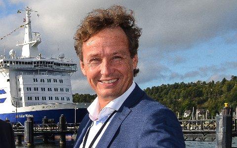 DAGLIG LEDER: Sandefjordingen Øivind Næss har bosatt seg på Nøtterøy. Nå er han ansatt som daglig leder i People Vestfold.
