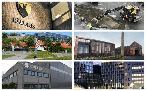 NOEN HAR FLERE STILLINGER LEDIG: Sandefjord kommune, Fon Anlegg, OCC og Jotun er noen av aktørene som er på jakt etter flere ansatte.