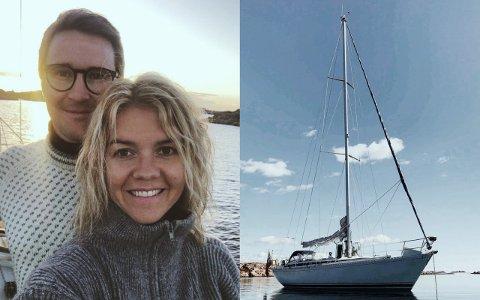 ATLANTERHAVSKRYSSERE: Sindre Runde Mosgren (34) og Sara Romero (28) skal på seiltur i et år. Turen inneholder blant annet å krysse Atlanterhavet og besøke flere karibiske øyer.