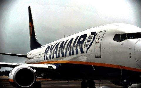 Ryanair har stengt for salg på alle større ruter fra Moss Lufthavn Rygge.