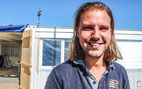 NYANSATT: Fabian Andersen er ansatt som prosjektleder for Skattkammeret og møteplassen i regi av Kirkens Bymisjon.