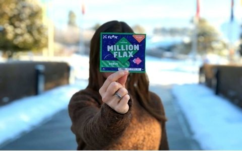 En heldig dame fra hovedstaden skrapte frem millionpremien på jobb.