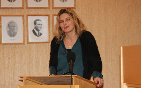 GIR SEG: Annike Vanberg stiller ikkje på lista til neste års kommuneval for SV.