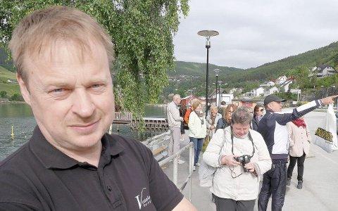 TOPPAR: Arne Glenn Flåten toppar Høgre-lista til kommunevalet i Sogndal neste haust. (Arkivfoto)