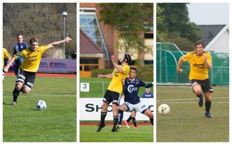 Tom Erik Maldal, Vegard Maldal og Aleksander Idland utgjør trenerteamet til Sola sitt a-lag resten av sesongen.