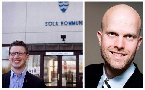 Ordfører Ole Ueland er ikke bekymret for hva Luksusfellen-programleder og siviløkonom Hallgeir Kvadsheim eventuelt ville ment om kommunens pengebruk.