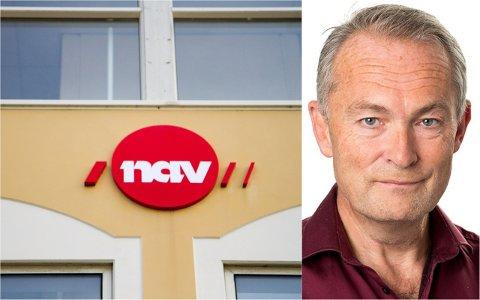 NAV-direktør Truls Nordahl gleder seg over synkende arbeidsledighet, men bekymrer seg for utstrakt bruk av midlertidige ansettelser.