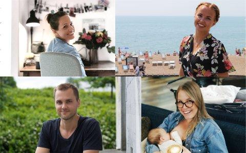 Katrine Morset Olsen, Siri Sæbø, Amund Nordal Gismervik og Karina Rugland har hatt ganske ulike drømmer som de har valgt å følge.