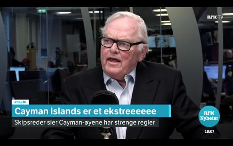 POPSTJERNE: Herbjørn Hansson har blitt popstjerne i Youtube-hiten «Cayman Islands».