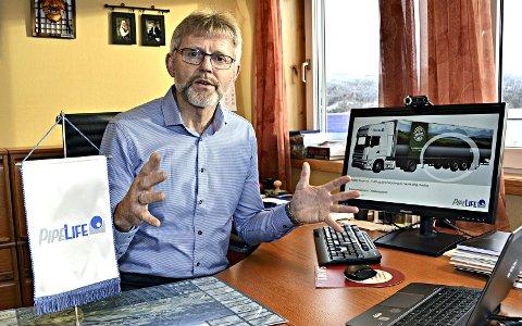 SLUTTER: Kjell Larsen i Pipelife Norge går av som øverste sjef ved nyttår.