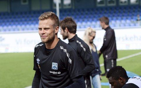 PÅ KBK-TRENING: Olav Øby har trent med KBK den siste uka.