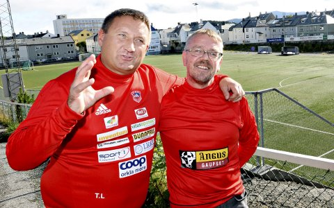 Kak-ledere: Tore Løvik (til venstre) og Tor Ødegård er henholdsvis leder og nestleder i KAK.