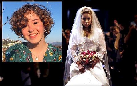 Aktiv: En absolutt aldersgrense for ekteskap er én av problemstillingene Erle Harsvik (innfelt) arbeider for å gjøre noe med. «Bryllupsbildet» er hentet fra Plan Internationals kampanje mot barneekteskap.