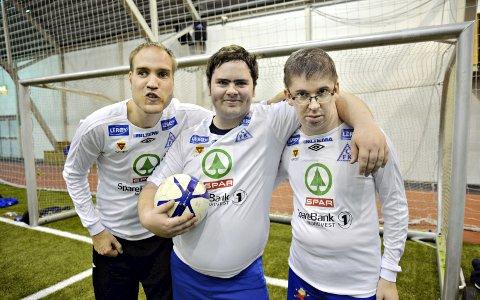 På Stjernelaget: Bjørn Einar Holm (fra venstre), Bjørn Vegar Tømmervåg og Erik Glåmen.