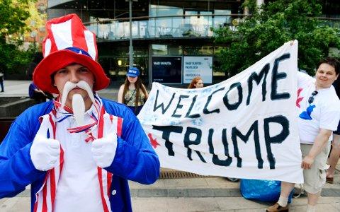 Tusenvis samlet seg søndag til demonstrasjoner flere steder i Helsingfors før toppmøtet mellom USAs og Russlands president, Donald Trump og Vladimir Putin.