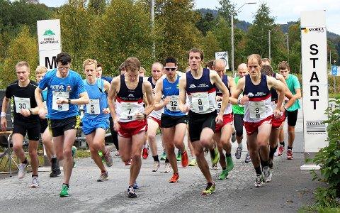 Start: 30 utøvere var med og løp på tid i Lina Roindt. Start: 30 stilte til start i konkurranse- og mosjonsklassen.