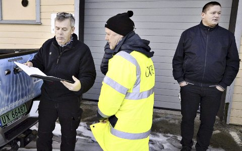 Per Mekvik (til venstre) og Mekvik Maskin vant mot Kristiansund kommune i retten.