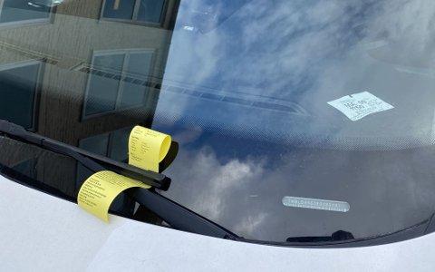 Lar du være å betale parkeringsbøtene, kan det fort bli veldig dyrt.
