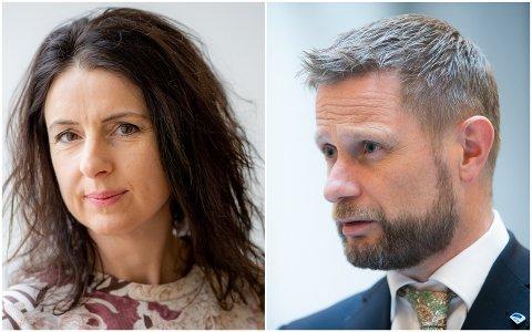 Jenny Klinge ba Bent Høie om svar angående stengingen av overgrepsmottaket ved Kristiansund sykehus. Nå har helse- og omsorgsministeren respondert.