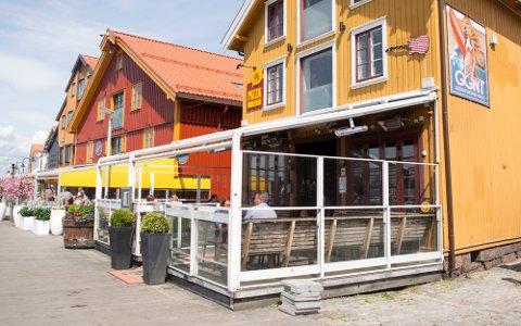 STENGT: Brannvesenet oppdaget flere avvik i brannsikkerheten på utestedet Harbour på Brygga i Tønsberg.
