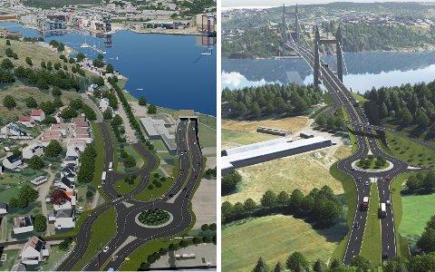 FLEST VIL UTSETTE: Nesten en av tre spurte i Tønsberg vil utsette avgjørelsen om bro eller tunnel til etter valget, men de største partiene vil trolig sørge for at det blir et vedtak nå.