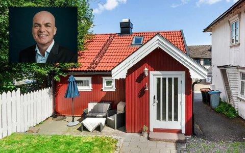 ENEBOLIG: Eiendomsmegler Robert Hoff har aldri solgt en så liten enebolig i Tønsberg før.