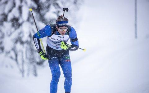 PÅ VEI TILBAKE: Sverre Aspenes fra Skatval er klar på hva som kreves hvis han skal bli best i skiskyting.