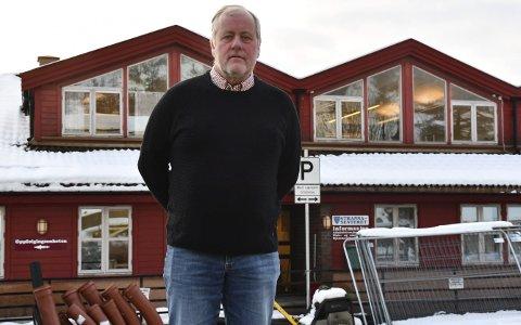 Strannasenteret: Morten Foss (Sp)  er skuffet over tirsdagens kommunestyrevedtak, der flertallet avgjorde å kutte støtten til Aktivitetsavdelingen.